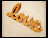 Wood Love Sign Letters