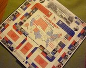 "Campaign Race for the White House Game Board 1999 J. R. Perri 20"" x 20"""
