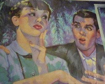 1950s George Englert Illustration Short Story Change of Heart
