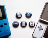 History of Gameboys Magnet Set