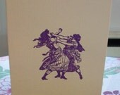 girlfight  stamped card