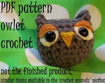 Crochet Pattern: Owl amigurumi PDF