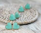 Bridesmaid Earrings Set - Mint Wedding