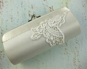 Custom Bridal or Bridesmaid Color Satin Purse - Choose your color and design to match your wedding colors