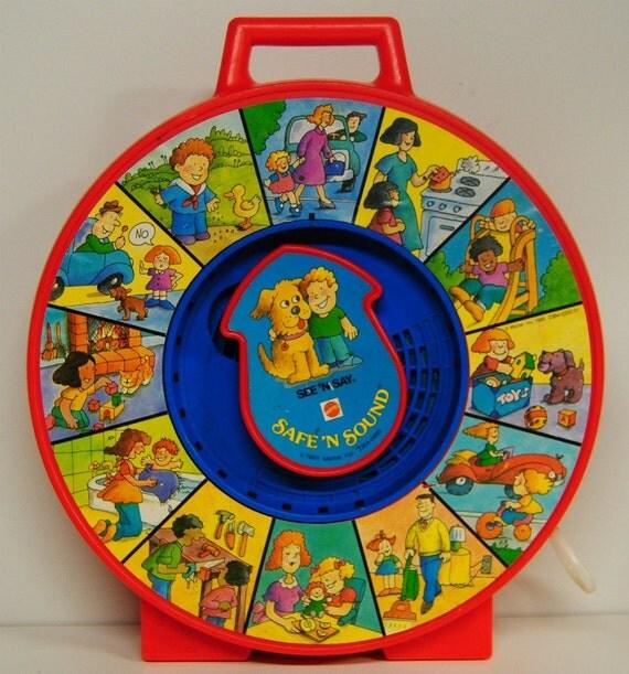 1985 Mattel Safe n Sound