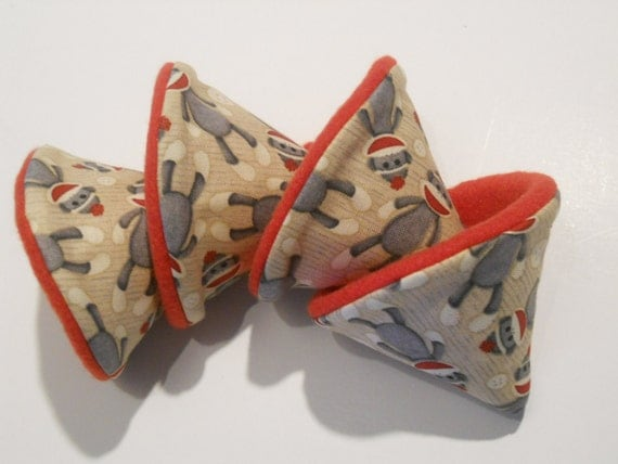 """Pee Wee Tinkle Tents -Boy Baby Shower Gift  boutique  """"Sock Monkey""""  LOW  Shipping - Our Top Seller"""