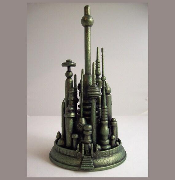 Emerald City Cake Topper