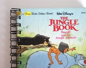 Jungle Book Reclaimed Paper Notebook, by newleafhandmade on Etsy