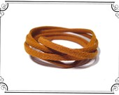 Suede Chord . . .  Camel Suede Chord . . .  NecklaceChiyogami Paper Yuzen image