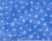 Moda Marble Star Bright Blue 1/2 yard