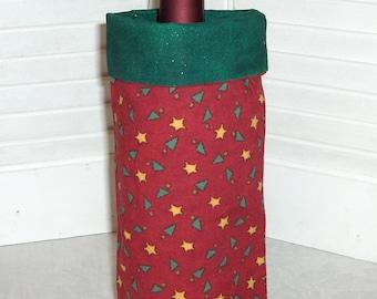 Tiny Trees holiday wine bottle gift bag