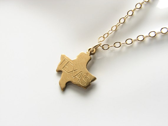 State necklace state charm Texas necklace California necklace New York necklace Florida necklace