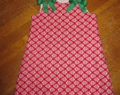 Red/Green Jumper with bows