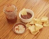 Homemade Hot Cherry Salsa 1 Pint Jar