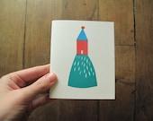 Little House Paper cut - Notebook