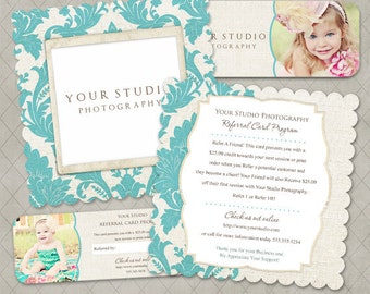 Luxe & Rep Card Referral Templates for Millers- Nichole Collection