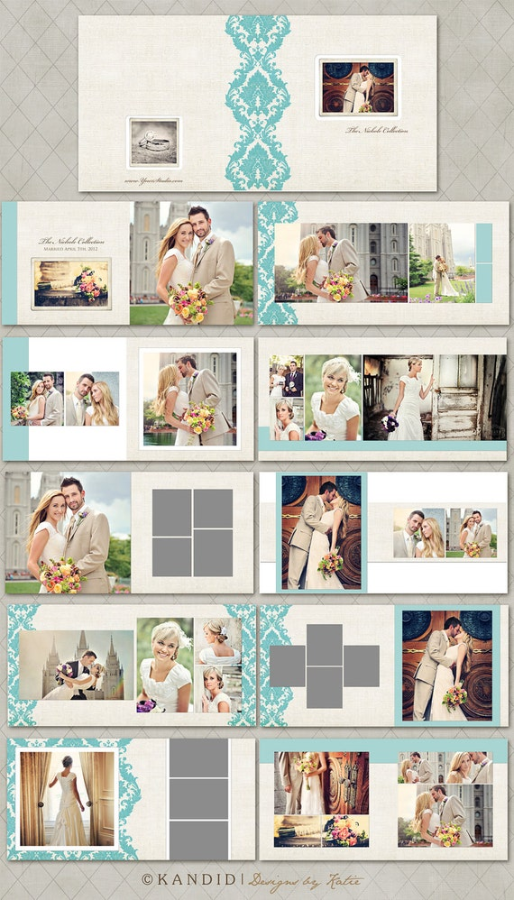 Nichole Collection 20 Page Album - Millers Lab 10x10 LayFlat Album