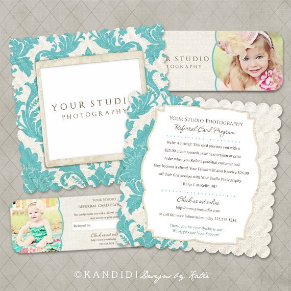luxe rep card referral templates for millers