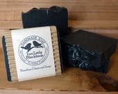 Activated Bamboo Charcoal Handmade All Natural Cold Process Soap