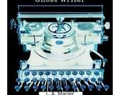 """Typewriter Art - Giclee Print  """"Ghost Writer"""""""