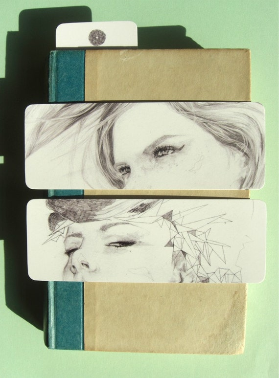 illustrated bookmark