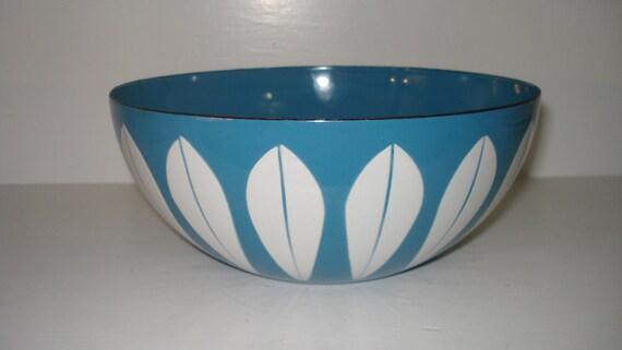 RESERVED Cathrineholm Blue Lotus bowl