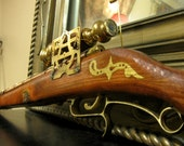 Steampunk Scoped Long Rifle - Praepostero - Eden Gallery
