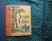 Double-Sided Book Purse Arabian Nights Aesop's Fables