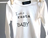 Free Shipping - Rasta Baby Long Sleeve Infant Onesie Bodysuit Newborn