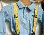 Little Man Yellow Suspenders - 18-36 months