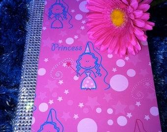Felittle Princess Notebook and Flower Pen