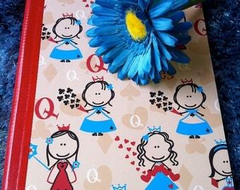 Felittle Queens Notebook and Flower Pen