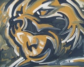 PITT Painting by Justin Patten Sports Art College