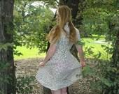 Patterned Shirtwaist Dress