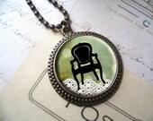 Vintage Chair Pendant