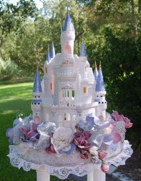 Cinderella Castle Wedding Cake Topper
