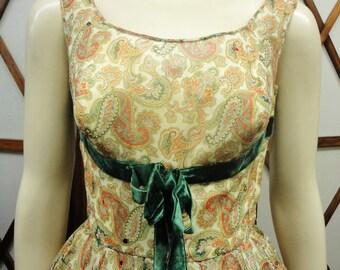 50s Vintage Rockabilly Swing Dress by Lora Pack