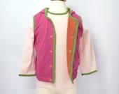 Organic Hoodie Vest for Toddler Girl - 2T