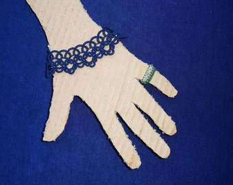 Handmade Lace Bracelet / Cuff