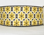 Industrial Yellow Martingale Collar - 2 Inch