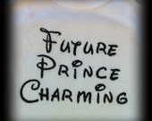Future Prince Charming Onesie or Shirt