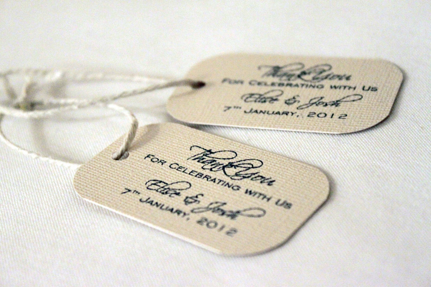Wedding Favor Gift Tags : 215 Mini Wedding Favor Gift Tags Sophisticated Design