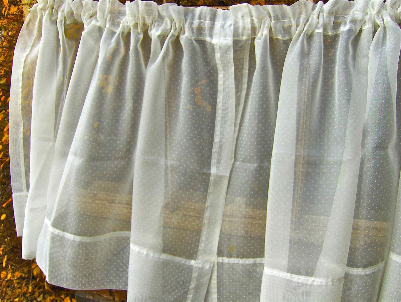 Sheer Polka Dot Curtains