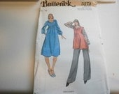 Pattern  Ladies Maternity Dress  Pants and Top  Size 10 Butterick 5573
