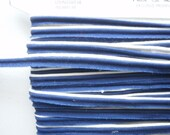 Navy Blue and white  cording  Item 1058  3/8 inch  13 1/2 yds Price for all