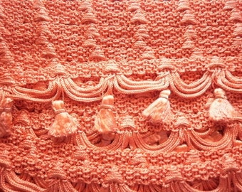 Orange Tassel Fringe for Upholstery Drapery Costumes 1040-Sold by the yard