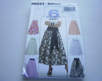 Pattern Ladies Skirts 5 Styles Sizes 8 to 14 Butterick 5041