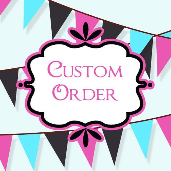 Custom Order for Adrianne - DEPOSIT for 15 Scrapbook Pages for 2012 Family Album
