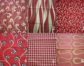 Custom Drapes - Red / Maroon 44X96in Curtain Panel