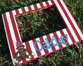 Sock Monkey Picture Frame-5x7